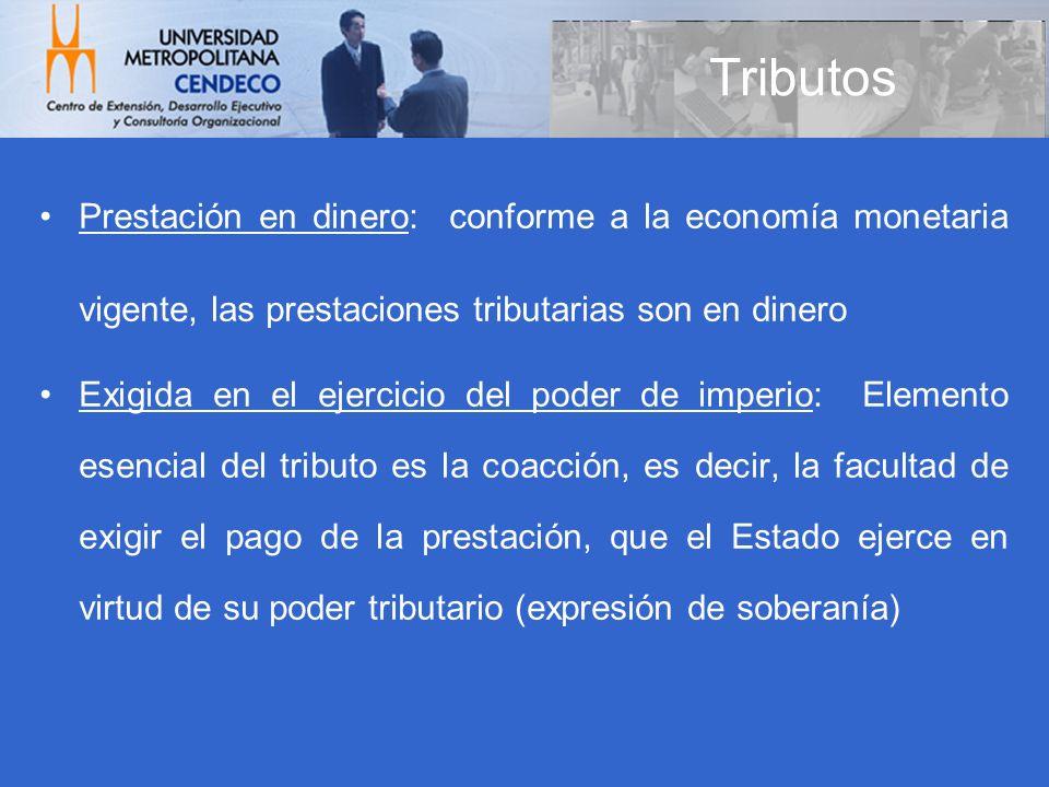Obligaciones Fiscales Impuesto sobre la Renta – Rentas (art.