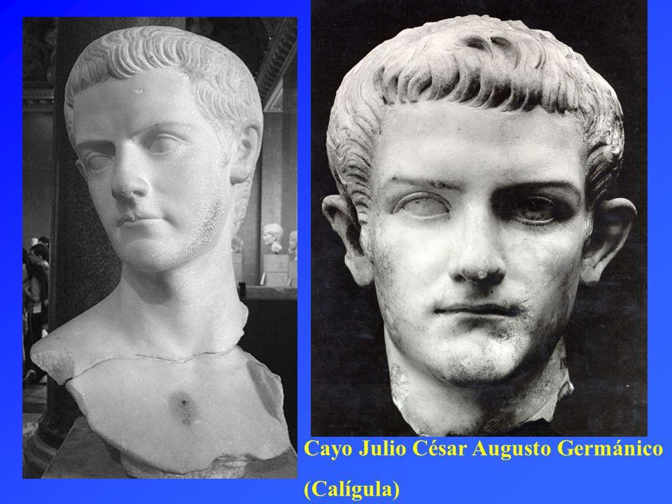 Cayo Julio César Augusto Germánico (Calígula)