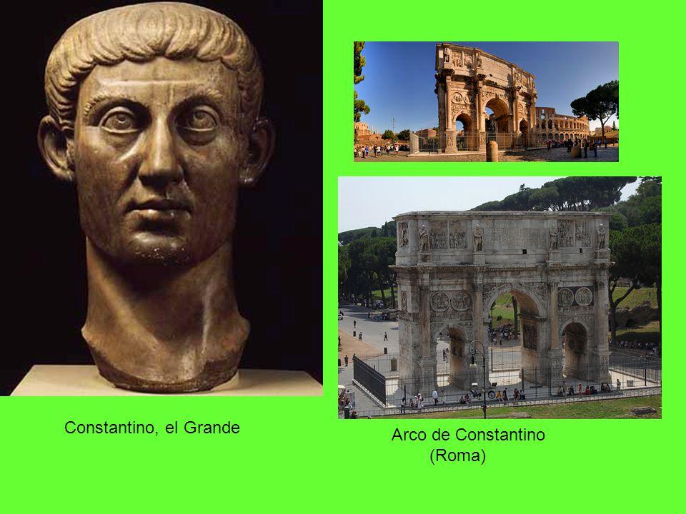 Constantino, el Grande Arco de Constantino (Roma)