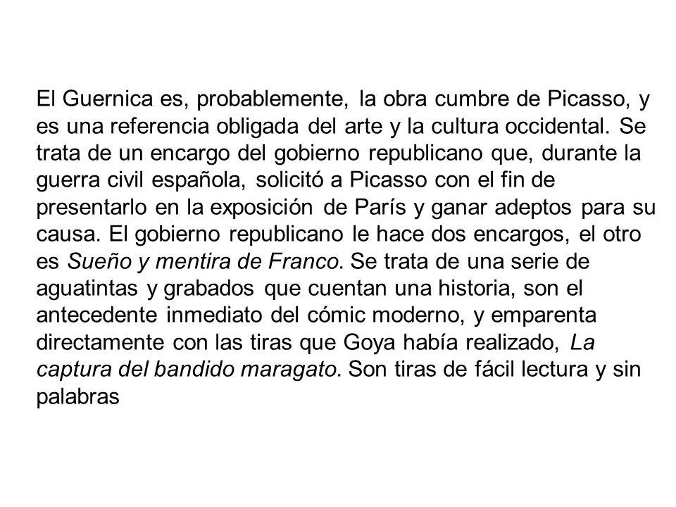 El Guernica es, probablemente, la obra cumbre de Picasso, y es una referencia obligada del arte y la cultura occidental.