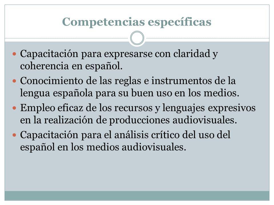 Contenidos 1. La expresión oral en español. La voz humana. Los sonidos del español. Los sonidos del español El acento y la entonación en español. 2. E