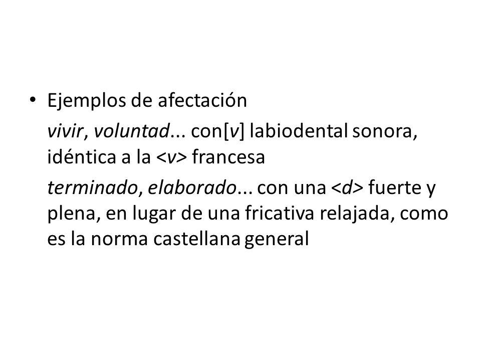 Oclusivas y aproximantes Las consonantes oclusivas del español presentan, en sus dos series sordas y sonoras, una estrecha relación con la serie de las aproximantes, en las tres localizaciones comunes: Bilabial Dental Velar p bt dk g β δ γ
