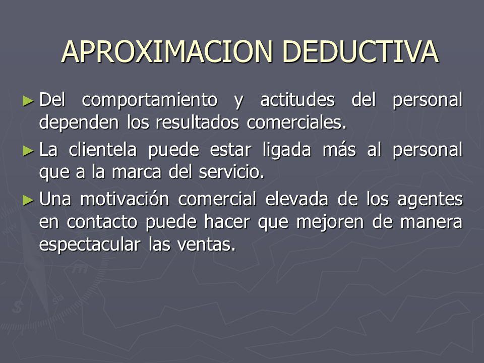 Del comportamiento y actitudes del personal dependen los resultados comerciales. Del comportamiento y actitudes del personal dependen los resultados c