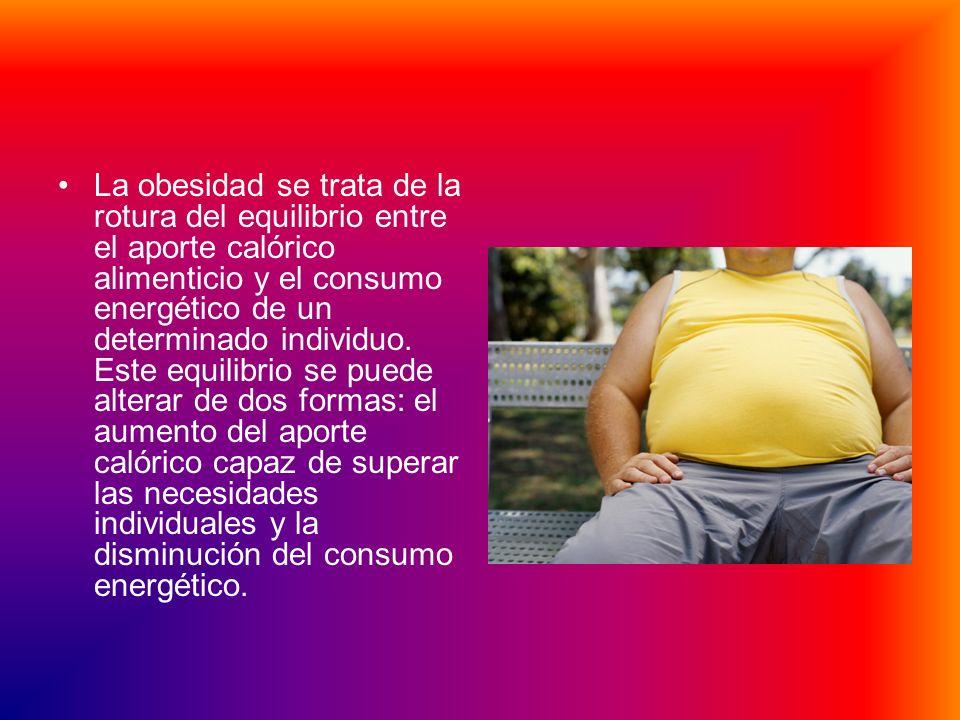 OBESIDAD Es la condición de aumento de la grasa subcutánea, material de reserva o de depósito dispuesto a ser empleado en cualquier situación de emerg