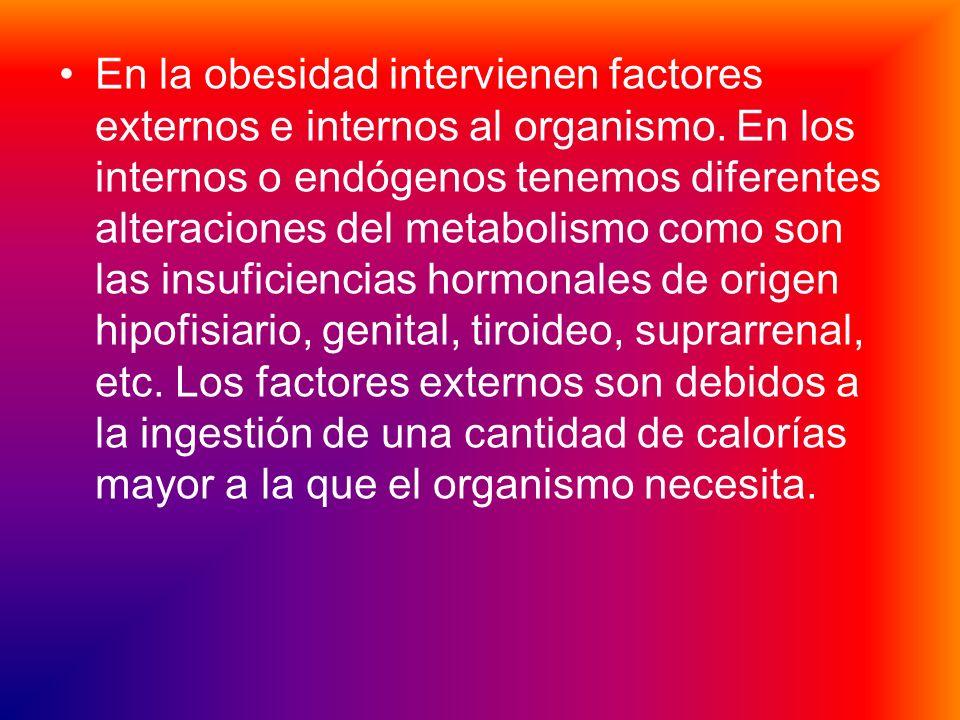 La obesidad se trata de la rotura del equilibrio entre el aporte calórico alimenticio y el consumo energético de un determinado individuo. Este equili