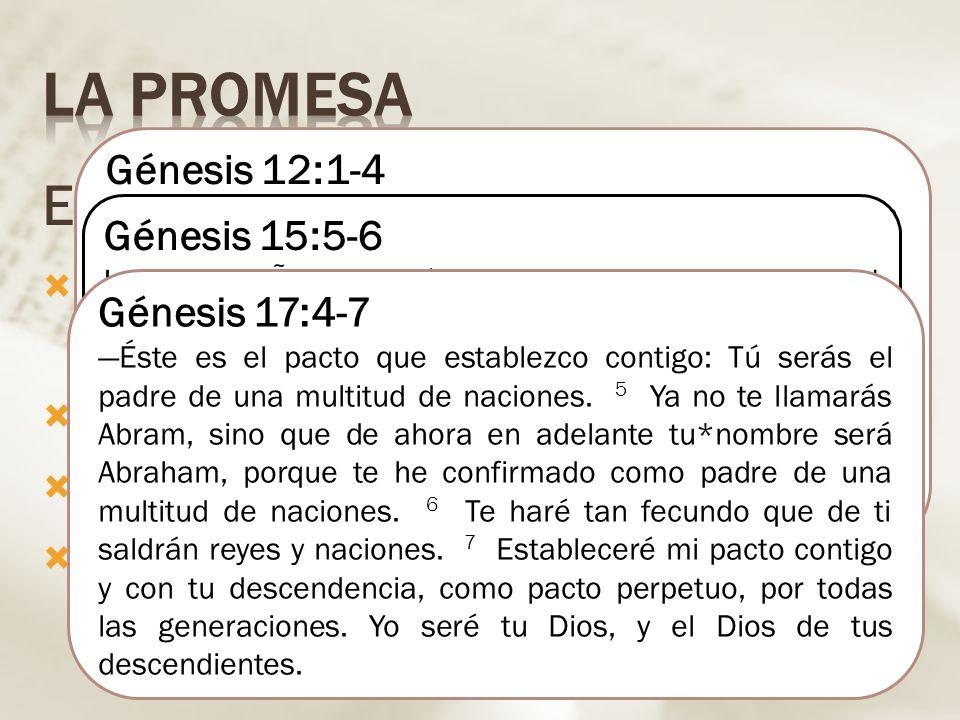 No tenía hijos / esterilidad de Sara Avanzada edad Intentos fracasados Las confirmaciones de la promesa El cumplimiento: Isaac