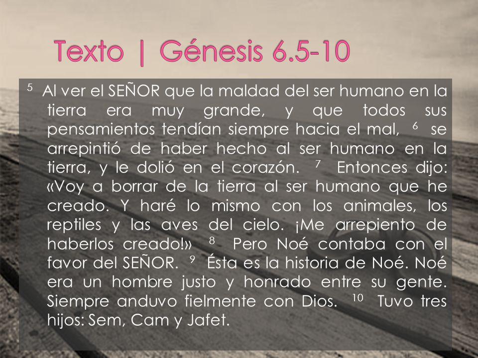11 Pero Dios vio que la tierra estaba corrompida y llena de violencia.