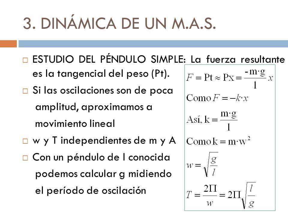 3.DINÁMICA DE UN M.A.S.