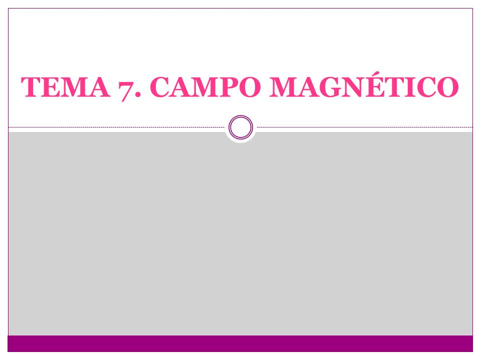 1.MAGNETISMO E IMANES MATERIALES MAGNÉTICOS.