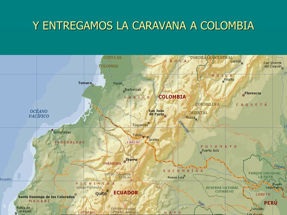 Y ENTREGAMOS LA CARAVANA A COLOMBIA