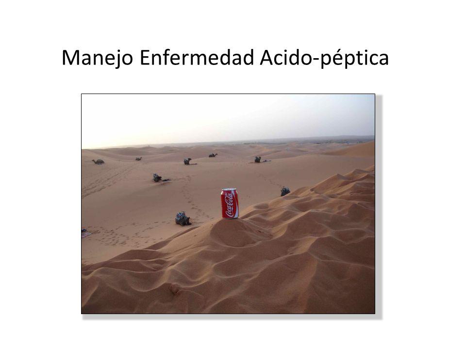 Manejo Enfermedad Acido-péptica