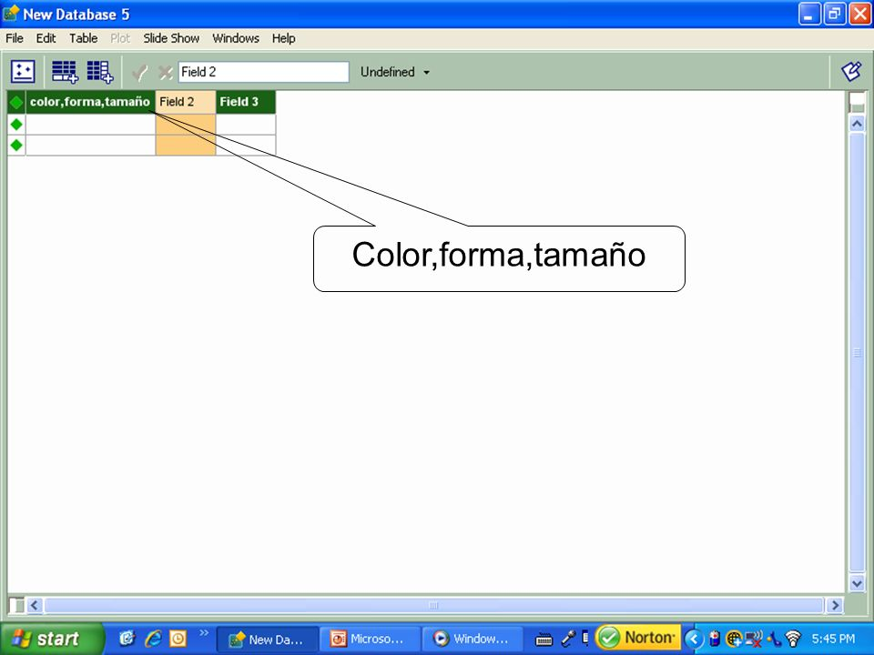 Color,forma,tamaño