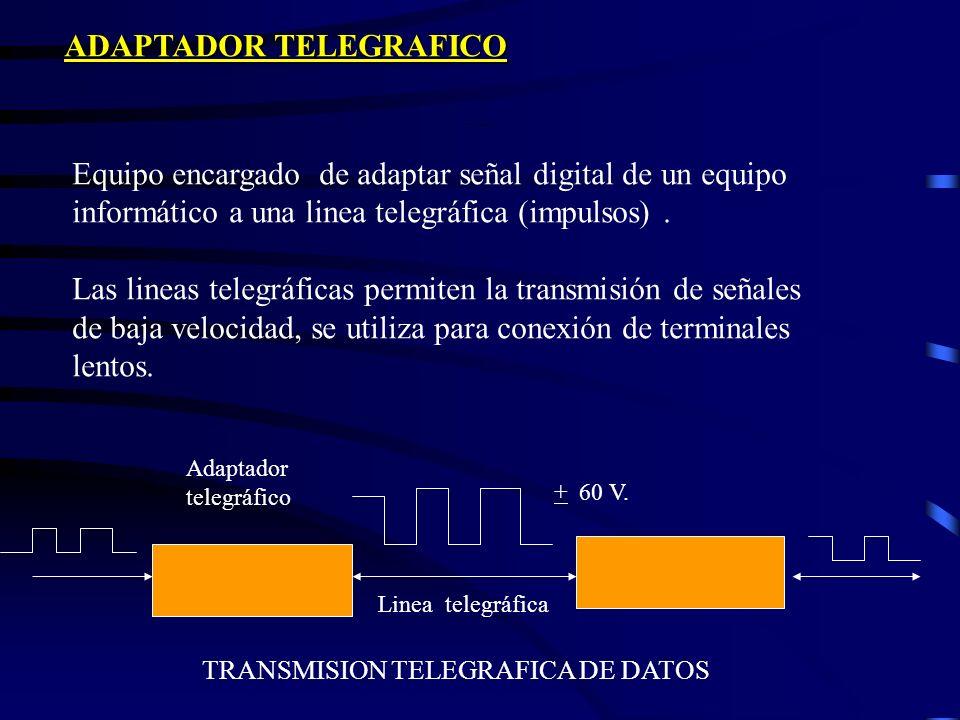 Principales funciones de un modem *Convertir una señal digital en analógica y viceversa *Detectar errores de transmisión *Corregir defectos de las lin