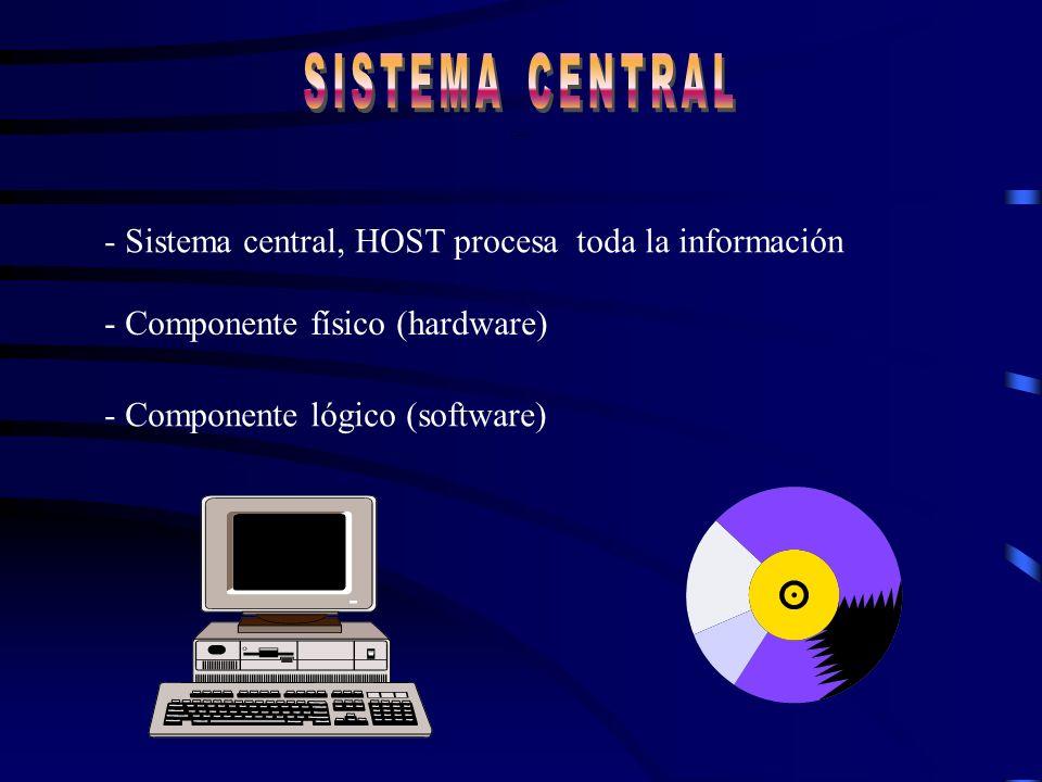 Elementos que componen un sistema Teleinformático * Computadora central * Terminal de información * Lineas de transmisión * Medios y métodos de envíos