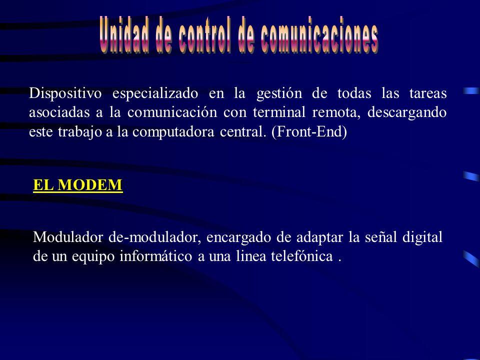 Sistema Central - Sistema central, HOST procesa toda la información - Componente físico (hardware) - Componente lógico (software)