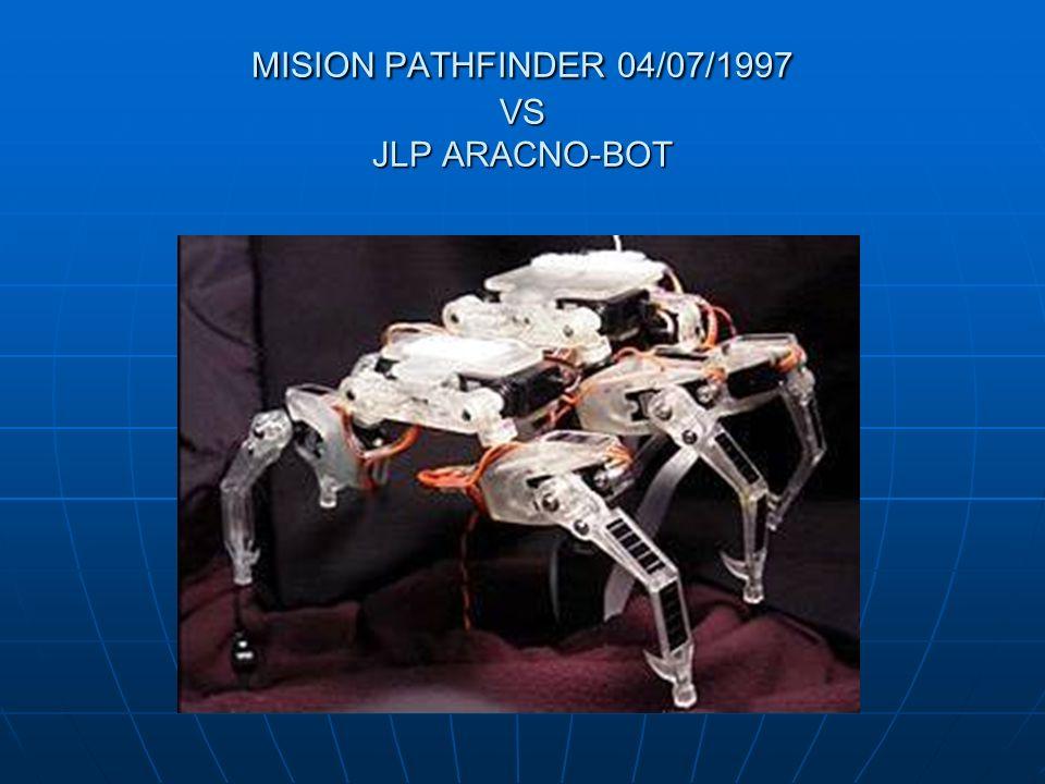 MISION PATHFINDER 04/07/1997 VS JLP ARACNO-BOT