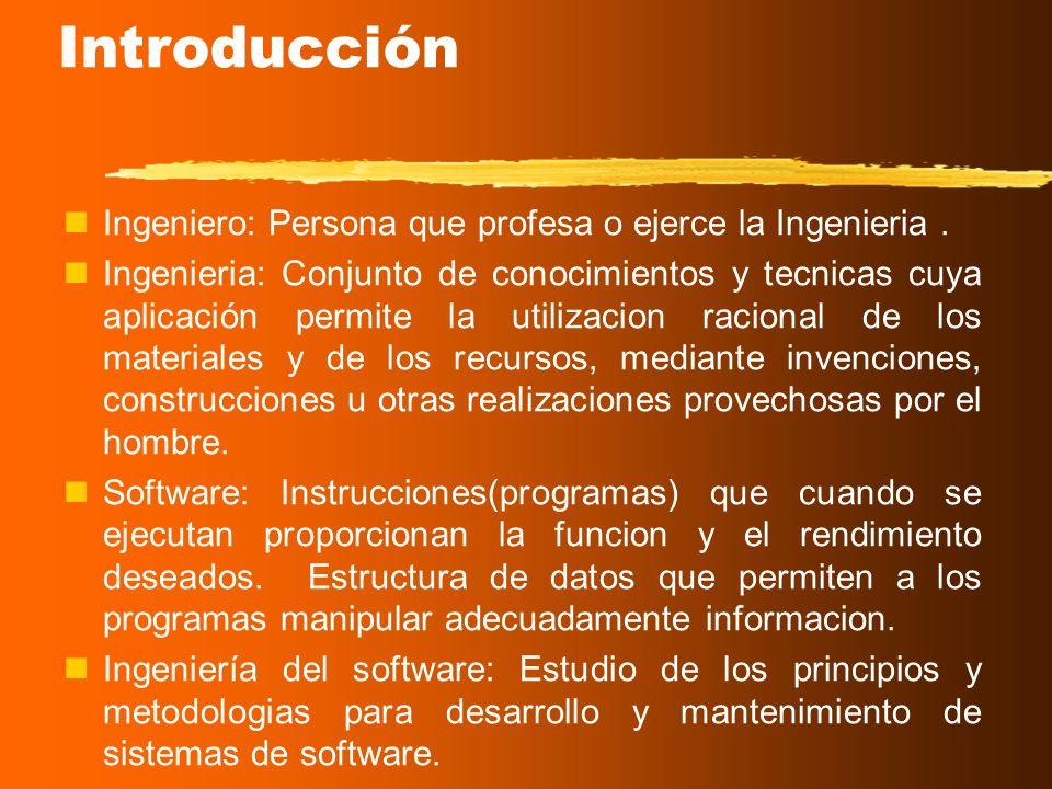 Universidad Mariano Gálvez Ingeniería del Software Capítulo 1. Introducción