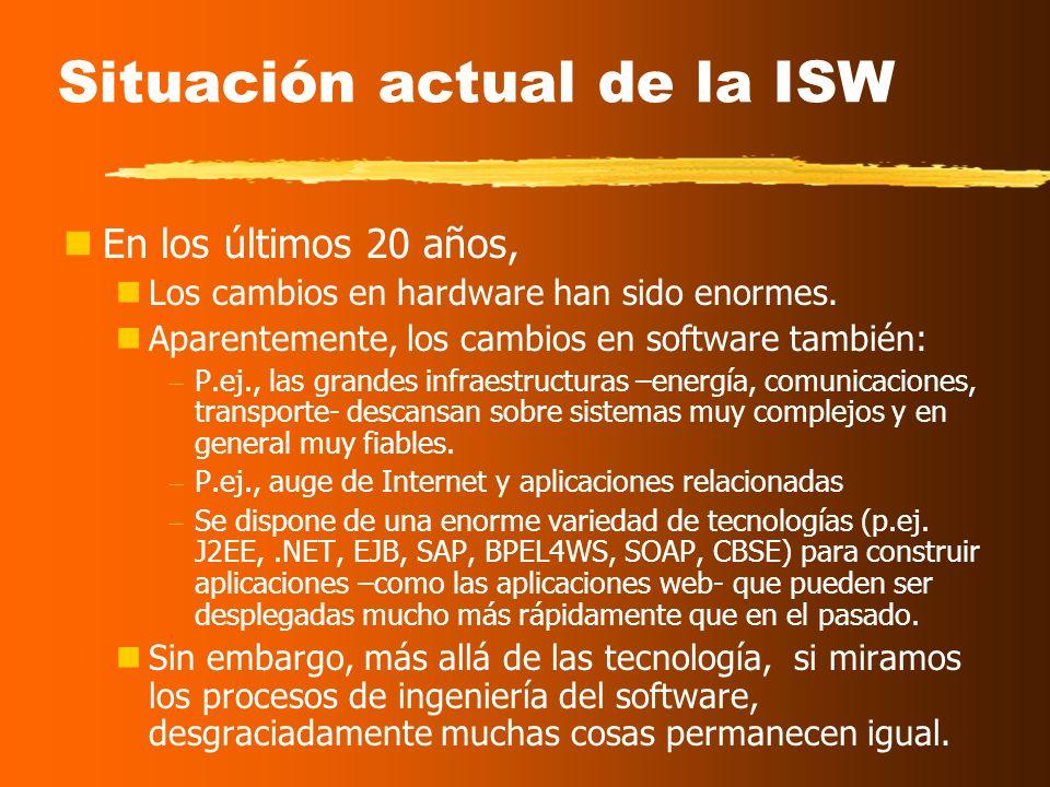 Más definiciones de ISW La ISW es el establecimiento y uso de principios sólidos de ingeniería, orientados a obtener software económico que sea fiable