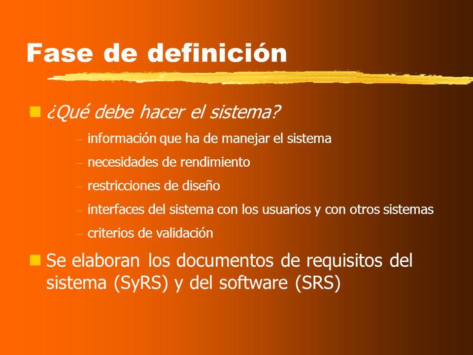 Visión general del proceso de ISW Con independencia del área de aplicación, tamaño o complejidad del proyecto, cualquier sistema se encontrará al meno