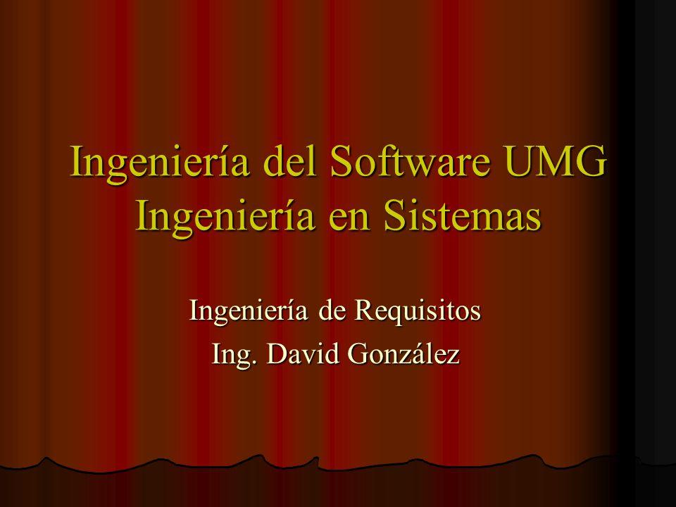 Razones de Inconsistencia Los sistemas de software grandes deben mejorar su actual situación.