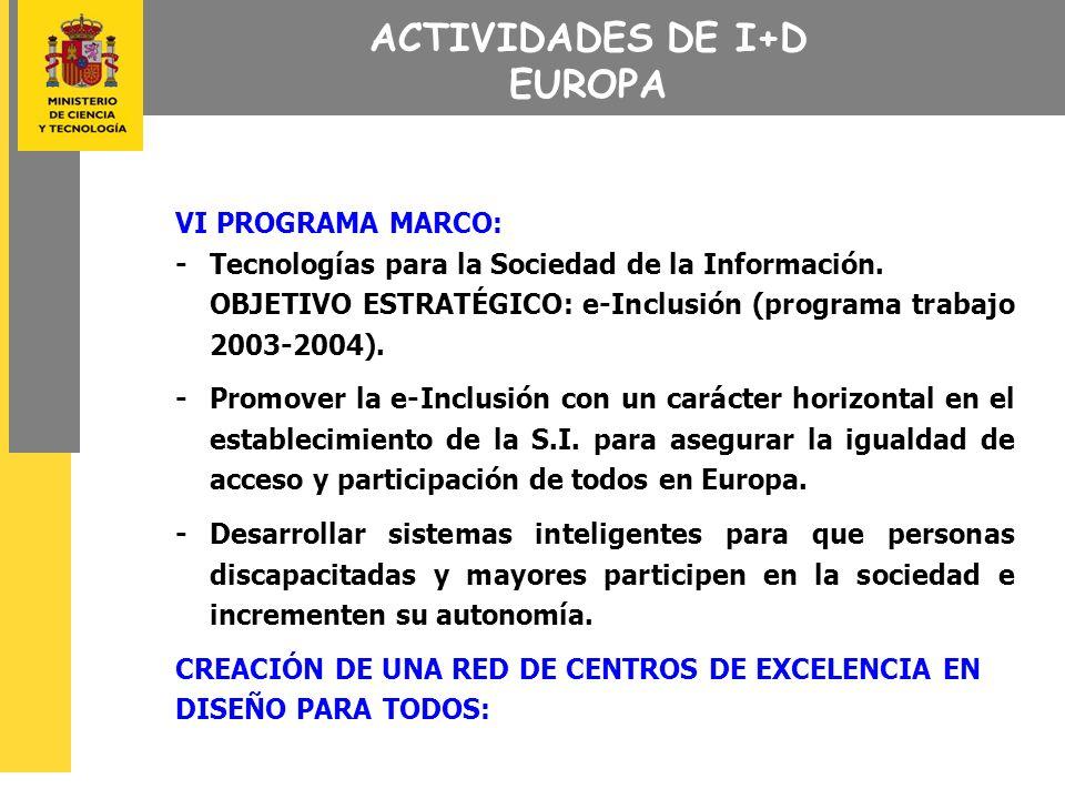 ACCIONES FORMATIVAS 1.- PROGRAMA DE FORMACIÓN EN TELECOMUNICACIONES (FORINTEL) - Adaptación de las acciones formativas a las especificidades de las personas discapacitadas.