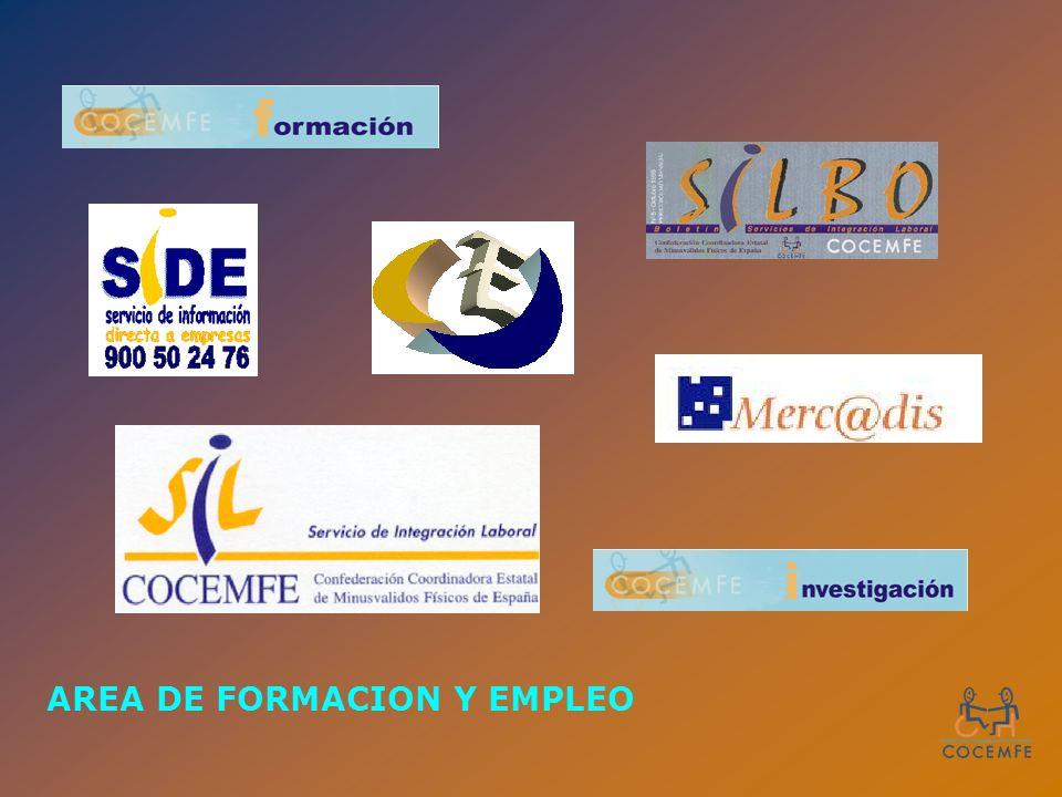 AREA DE FORMACION Y EMPLEO