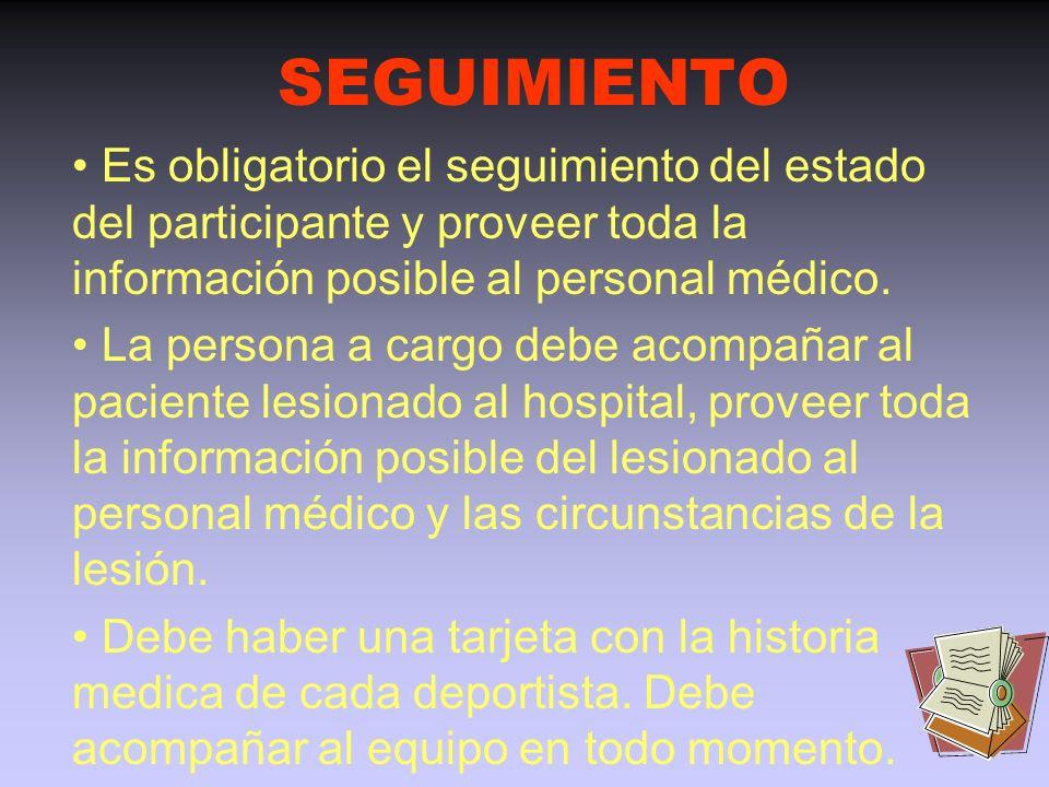 Persona que llama: responsabilidades (II) Informar al Sistema de Emergencias Médicas (SEM) del estado médico del accidentado, la naturaleza de la emer