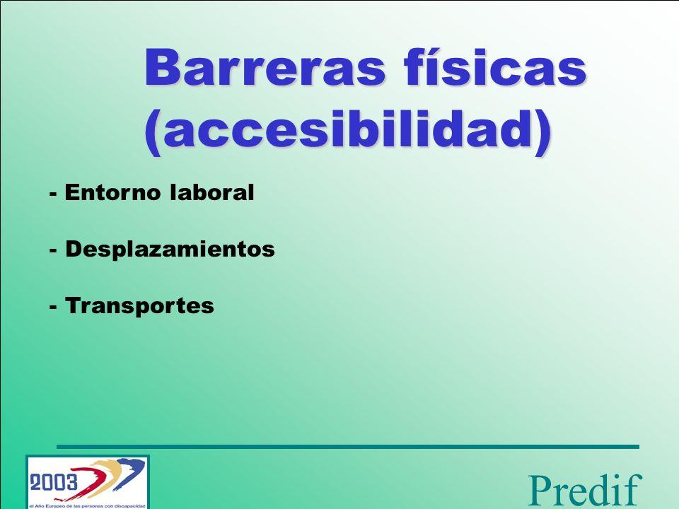 Predif Barreras sociales - Discriminación del empresario - Imagen social - Autodeterminación de la persona con discapacidad