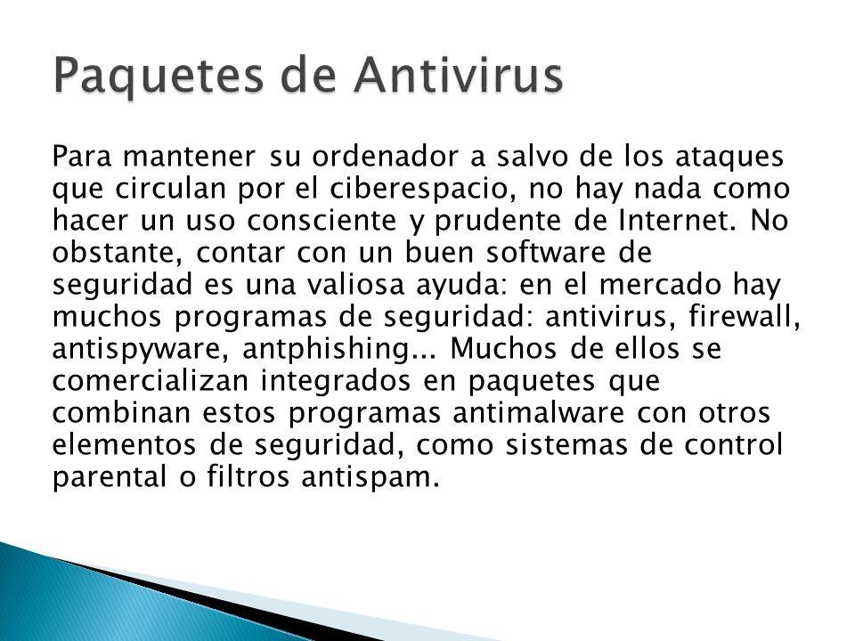 Para mantener su ordenador a salvo de los ataques que circulan por el ciberespacio, no hay nada como hacer un uso consciente y prudente de Internet.