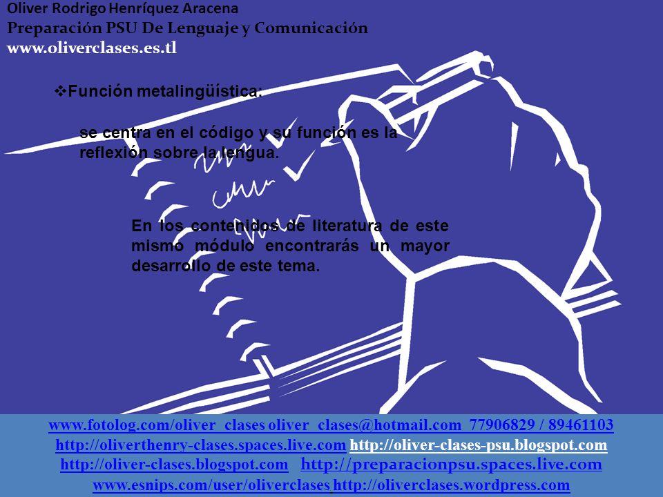 Función conativa o apelativa: corresponde al receptor, ya que a través de ella se influye en sus actitudes y emociones. Función poética: su finalidad