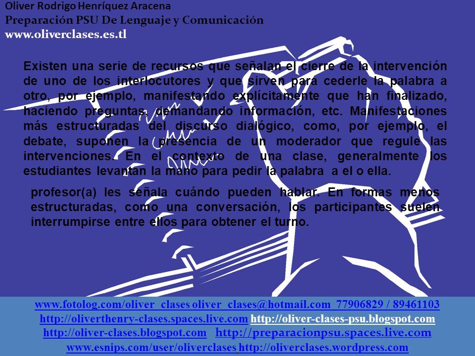I. Discurso dialógico El discurso dialógico es aquel que se caracteriza por la interacción directa entre los hablantes, por lo tanto, su elaboración d