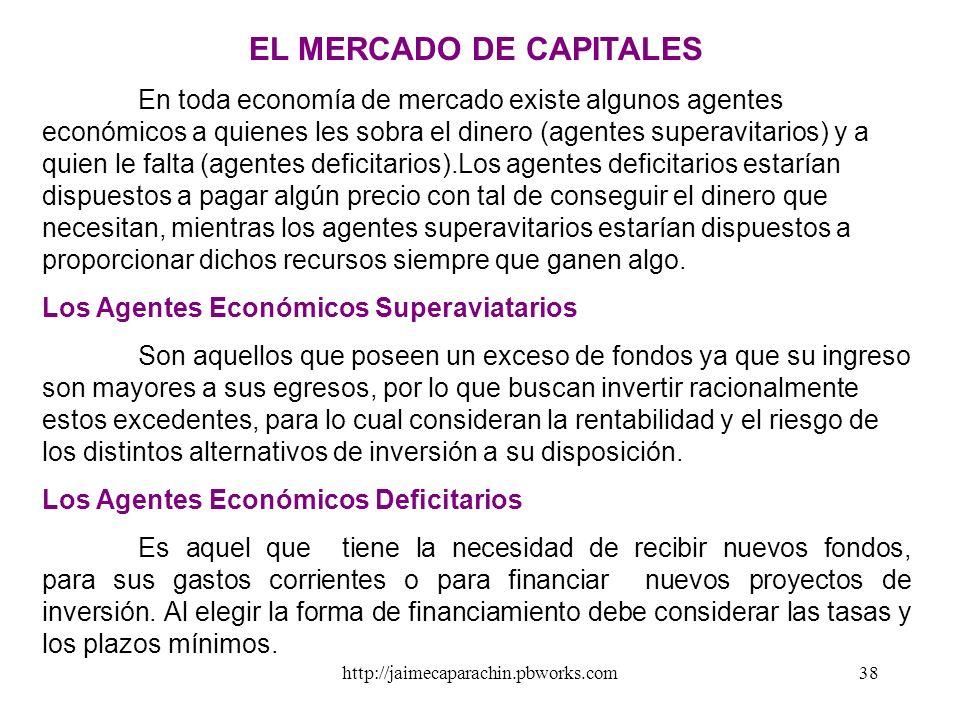 http://jaimecaparachin.pbworks.com37 En síntesis, con una base monetaria de 100, los bancos comerciales pueden aumentar la cantidad de dinero (M) de l