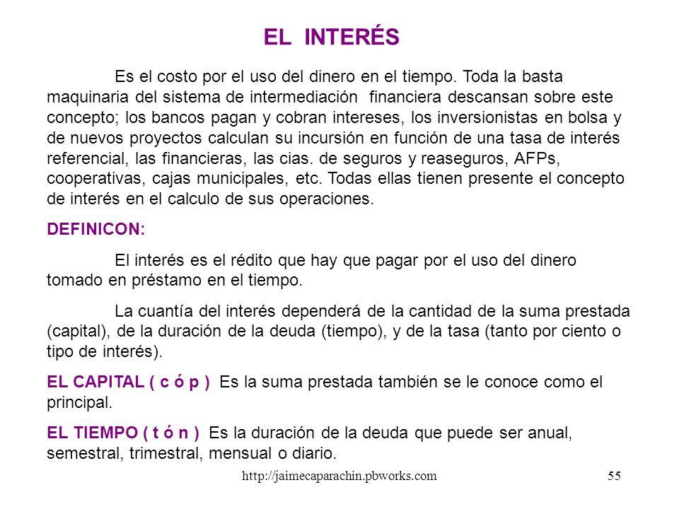 http://jaimecaparachin.pbworks.com54 ESTRUCTURA REGULATORIA DE LA INTERMEDIACIÒN FINANCIERA MINISTERIO DE ECONOMÍA Y FINANZAS - MEF Comisión Nacional