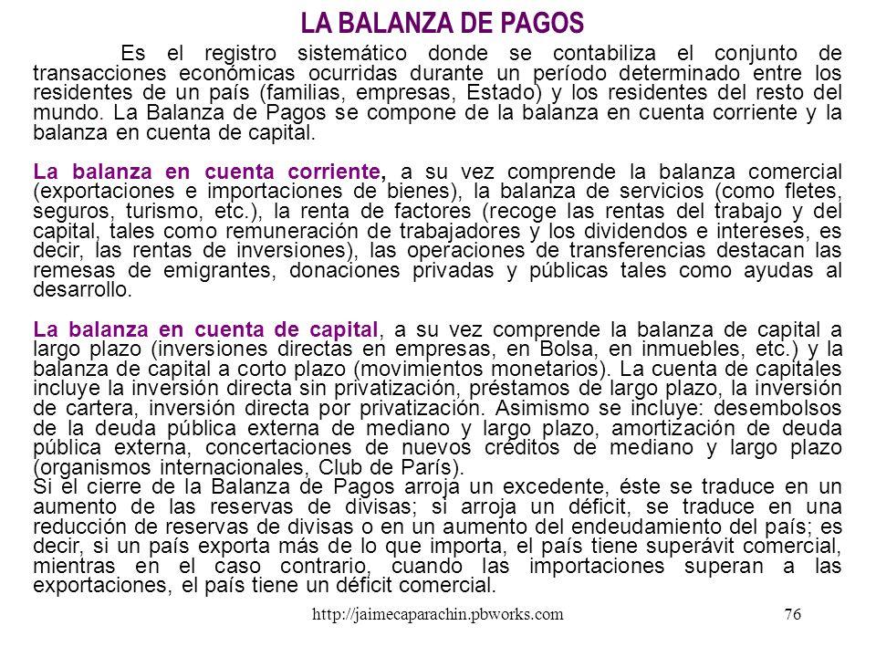 http://jaimecaparachin.pbworks.com75 LOS ARANCELES UNA RESTRICCIÓN AL LIBRE COMERCIO La política comercial influye sobre el comercio internacional med