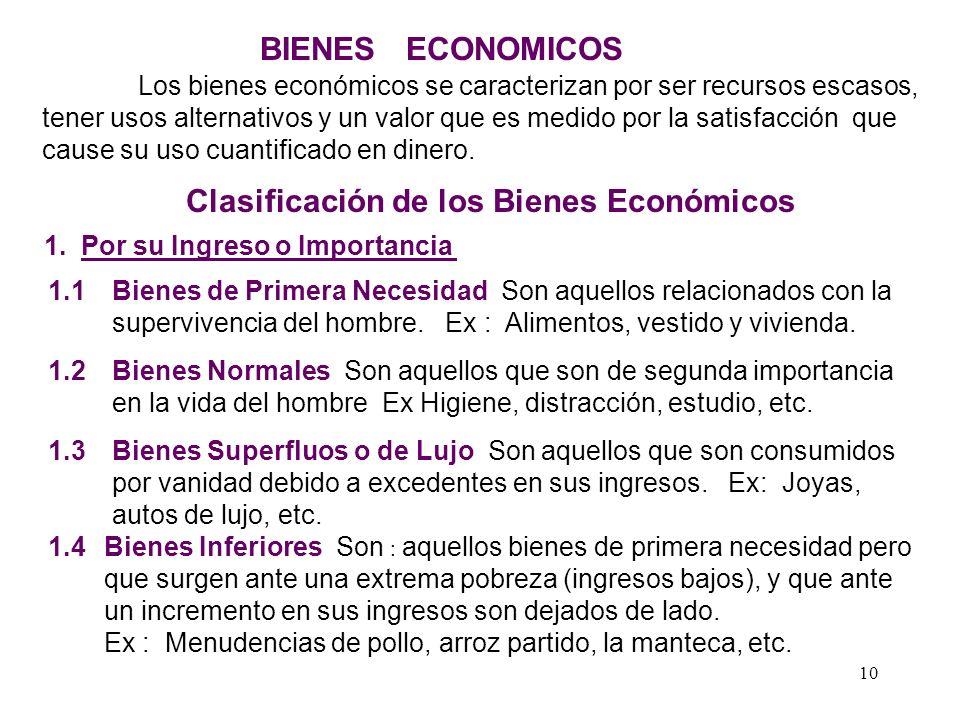 9 EL PROBLEMA ECONÓMICO La razón de ser del sistema económico se presenta a través de la siguiente disyuntiva que también es el espíritu de la economí