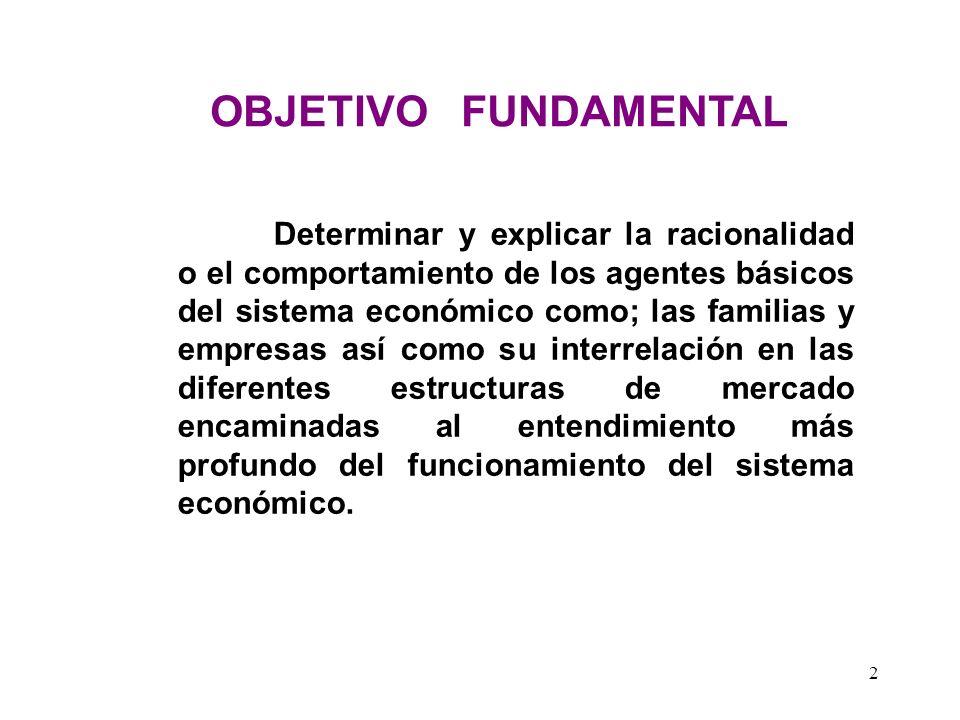 62 Teoría de las Curvas de Indiferencia 1.Análisis de la Indiferencia.