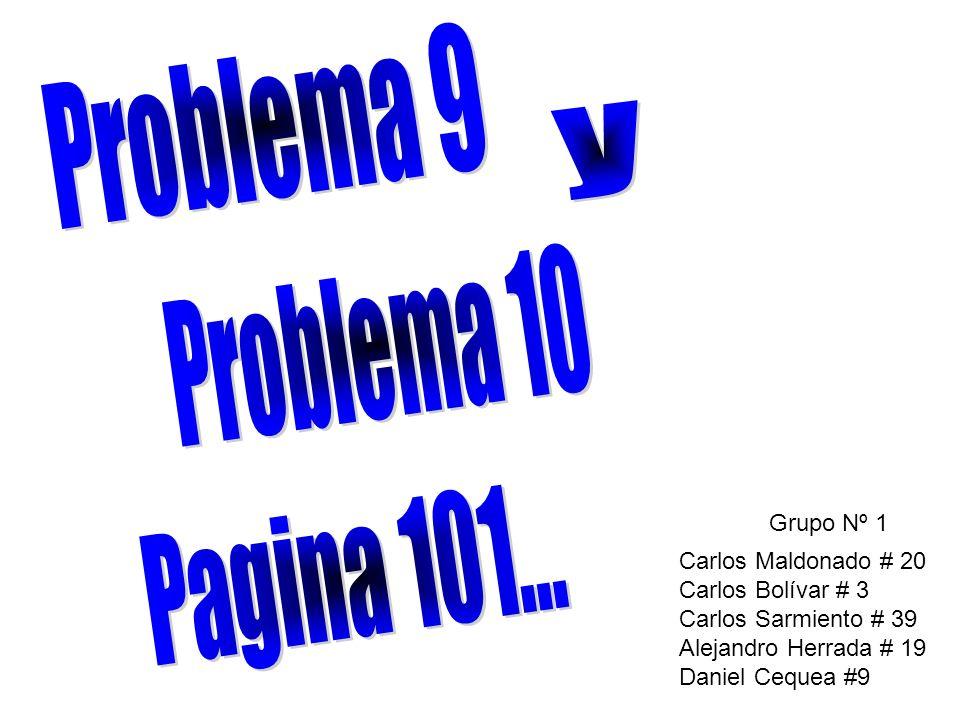 Grupo Nº 1 Carlos Maldonado # 20 Carlos Bolívar # 3 Carlos Sarmiento # 39 Alejandro Herrada # 19 Daniel Cequea #9