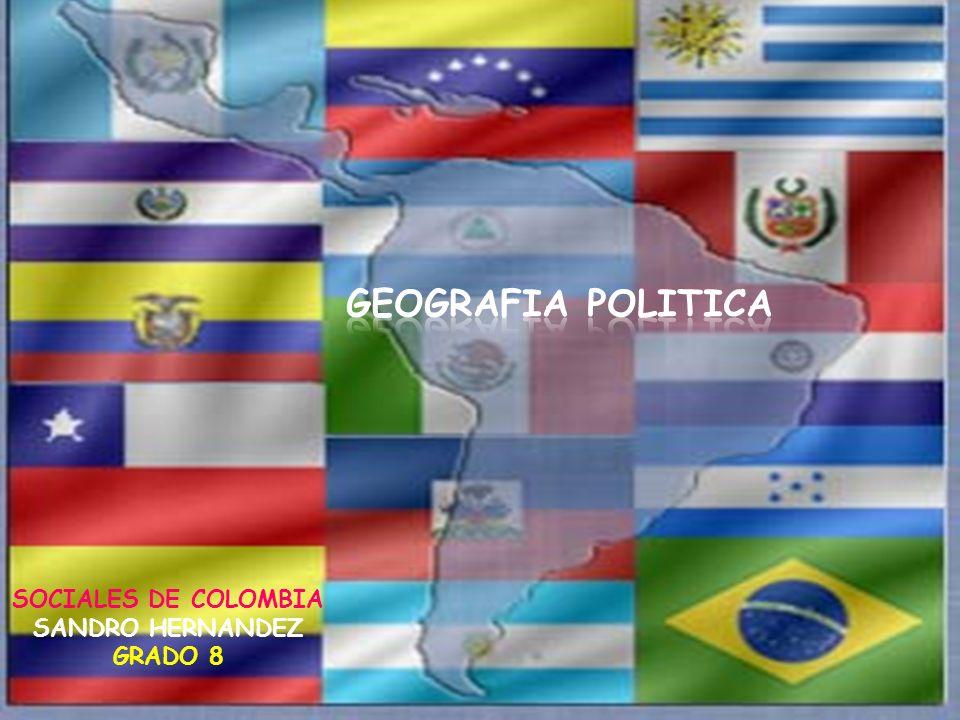 SOCIALES DE COLOMBIA SANDRO HERNANDEZ GRADO 8