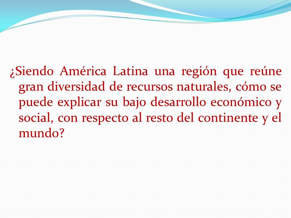 AMÉRICA LATINA TERRITORIO AMPLIO Y DIVERSO En la superficie de América, se encuentran grandes desigualdades en los medios naturales, en la población y en sus asentamientos y, sobre todo, en los niveles de desarrollo de los países que la conforman.