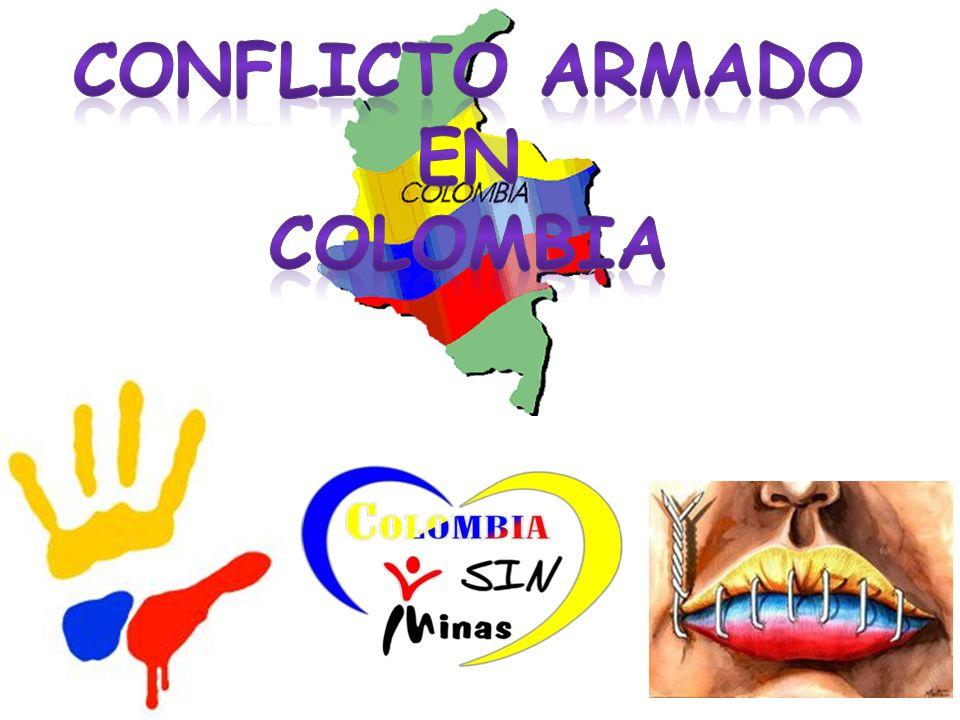 Causas Las causas para que el conflicto armado colombiano se desarrollara se centran en la corrupción política, pobreza, el analfabetismo, al abandono estatal, en las deficiencias de todo tipo en los núcleos familiares y la decadencia de los valores sociales, morales y éticos.