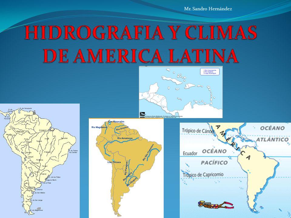 HIDROGRAFIA DE AMERICA LATINA ¿Por qué algunas personas afirman que la Tierra es un Planeta Azul.