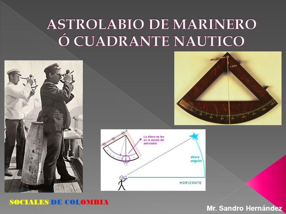 SOCIALES DE COLOMBIA Mr. Sandro Hernández