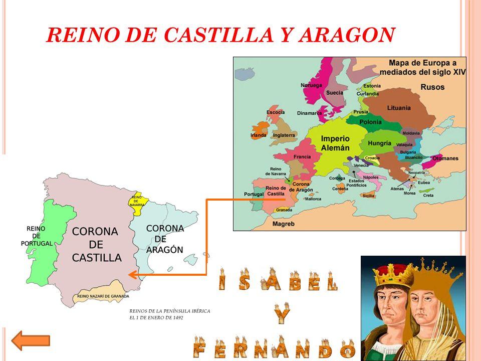 REINO DE CASTILLA Y ARAGON