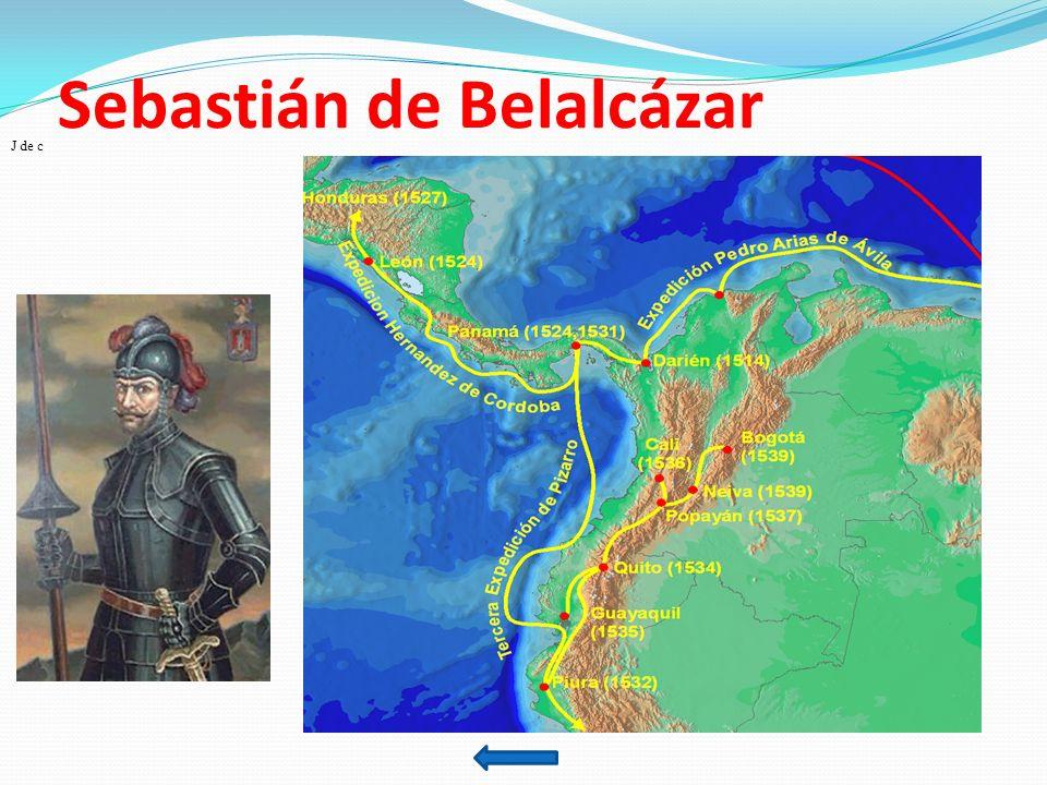 Sebastián de Belalcázar J de c