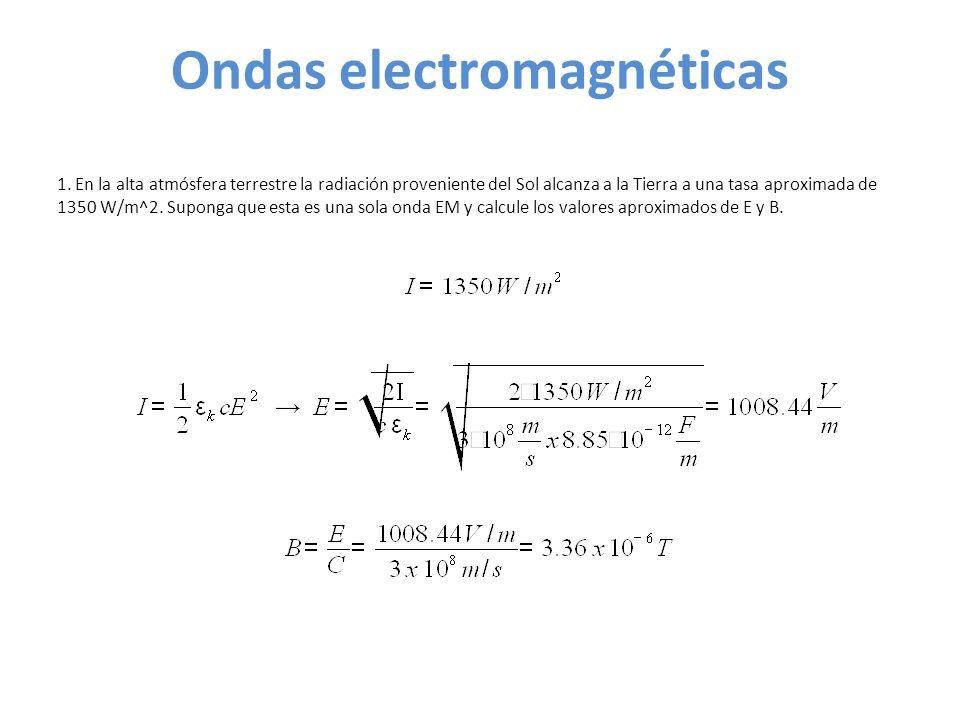 Ondas electromagnéticas 1.