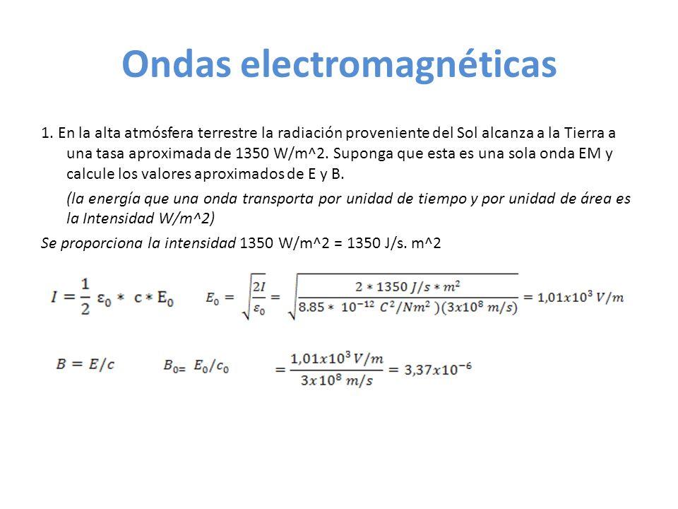 Ondas electromagnéticas 2.