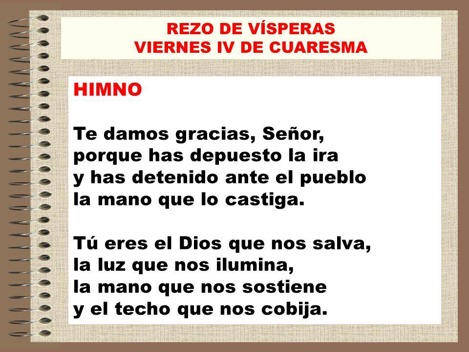 PRECES V/.Yo dije, Señor, ten misericordia. R/. Yo dije, Señor, ten misericordia.