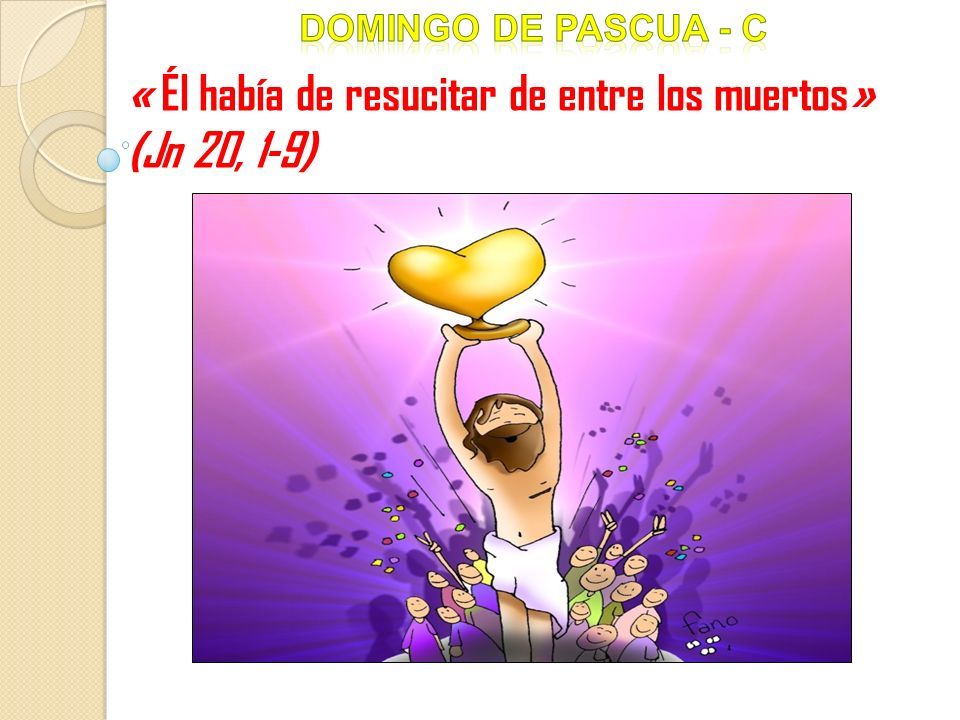 « Él había de resucitar de entre los muertos» (Jn 20, 1-9)
