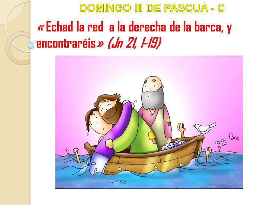 « Echad la red a la derecha de la barca, y encontraréis» (Jn 21, 1-19)