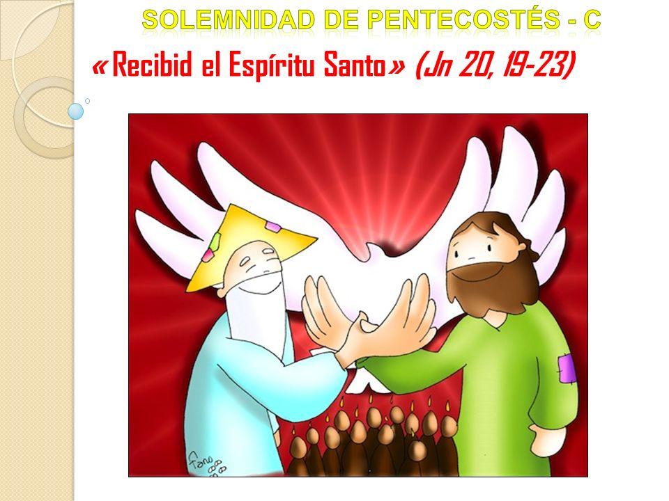 « Recibid el Espíritu Santo» (Jn 20, 19-23)